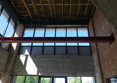 Steel support beam